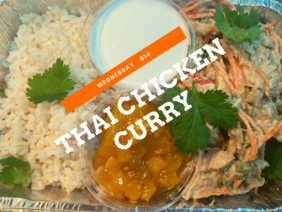 Thai Chicken Curry & Rice